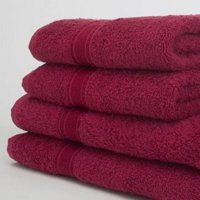 Burgundy Towels