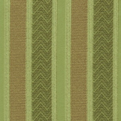 Nobel Stripe 284 Sage Fawn Fire Resistant roman blinds
