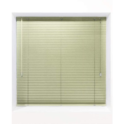 Pale Green 25mm Metal Venetian Blind - Made to Measure