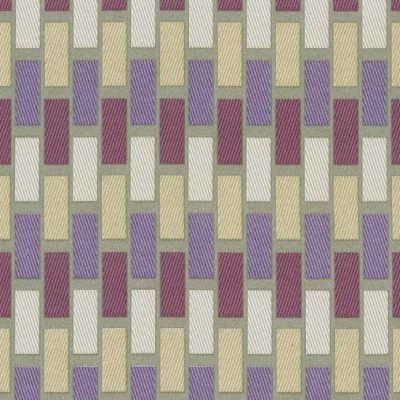 Plaza 745 Mink Purple Fire Resistant roman blinds