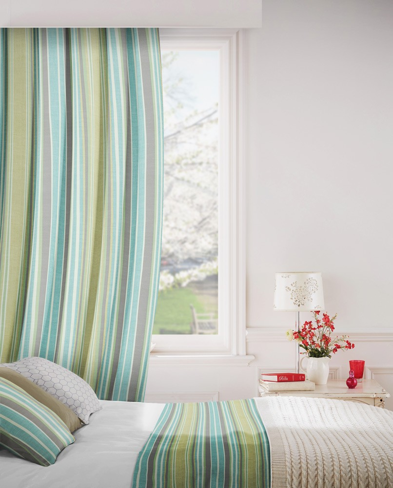 Arcadia 205 Sage Green Fire Resistant Curtains