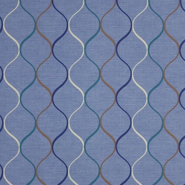 Austen 111 Peacock Fire Resistant Fabric