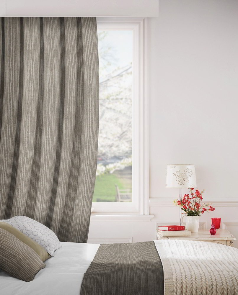 Breeze 835 Hessian Fire Resistant Curtains
