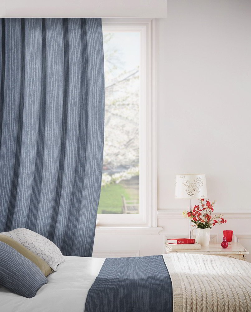 Breeze 903 Charcoal Fire Resistant Curtains