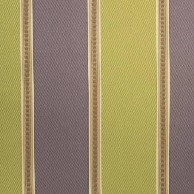 Capital Stripe 264 Lime Purple Fire Resistant Curtains