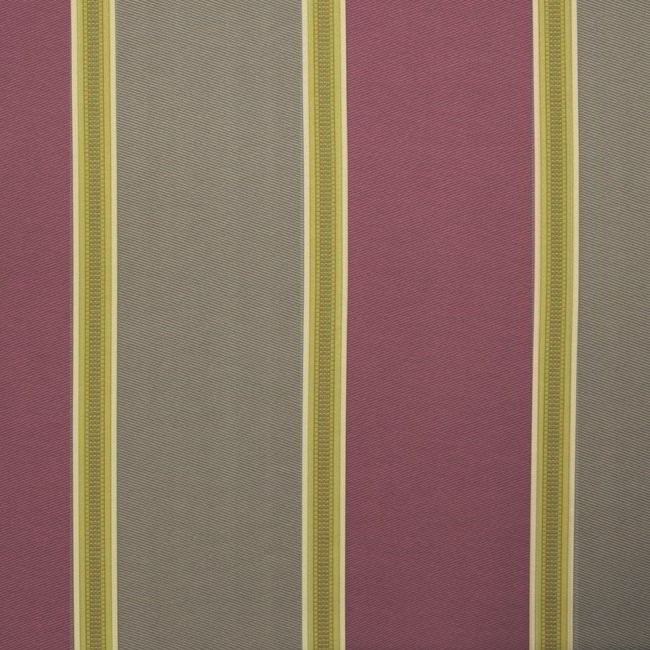 Capital Stripe 673 Mulberry Mink Fire Resistant Fabric