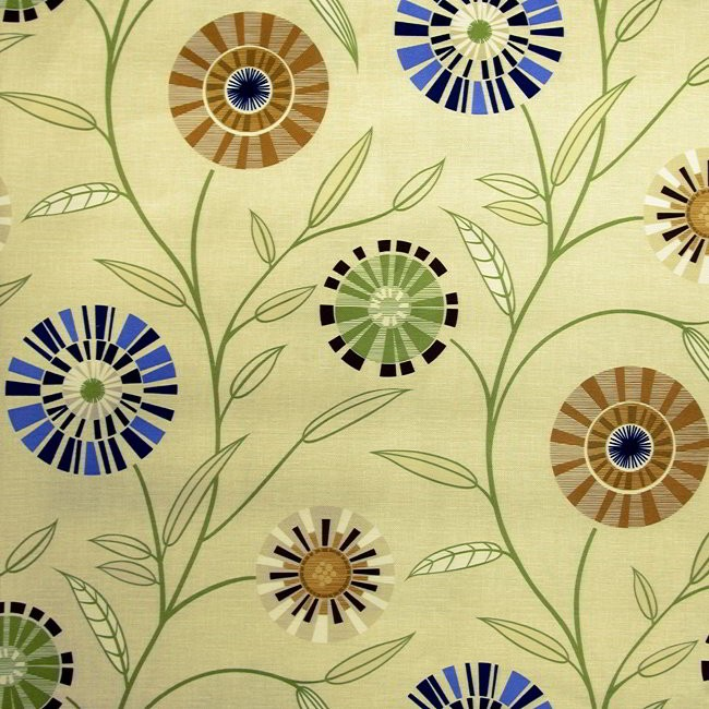 Carnival 831 Cream Gold Fire Resistant Fabric