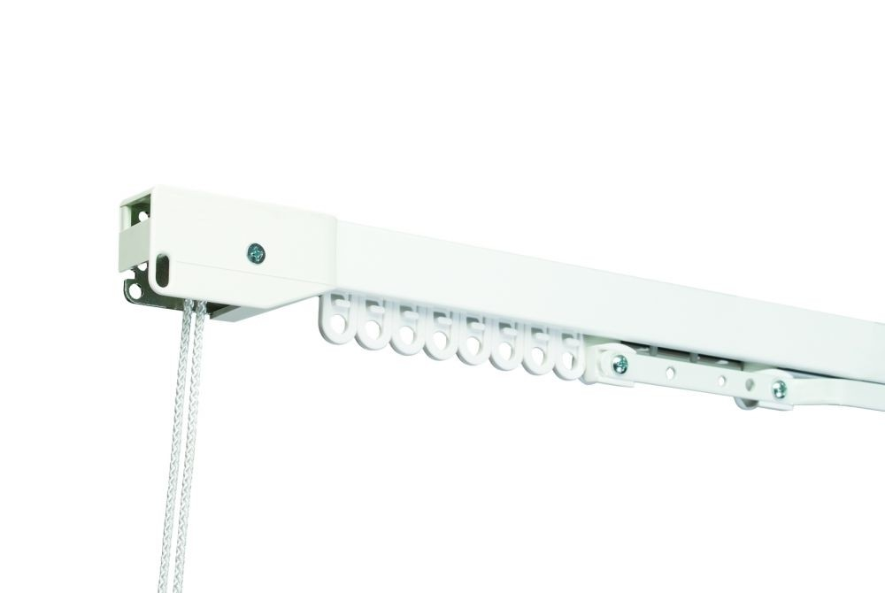 Heavy Duty Cord Drawn Curtain Track - Made to Measure - Ideal for Contract Curtains upto 40kg