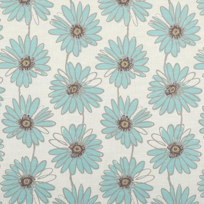 Daisy 134 Sky Fire Resistant Fabric