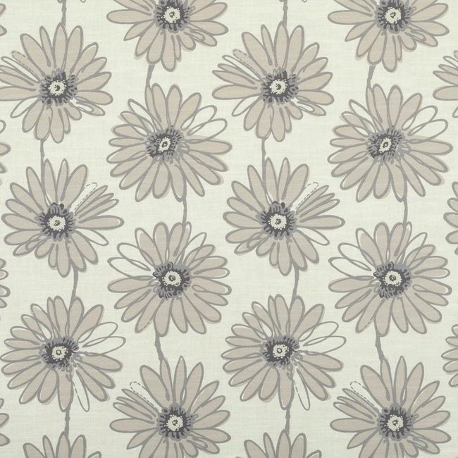 Daisy 852 Beige Cream Fire Resistant Fabric