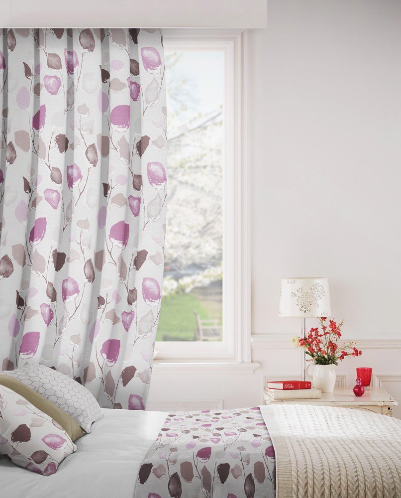 Eden 114 Lavender Fire Resistant Curtains