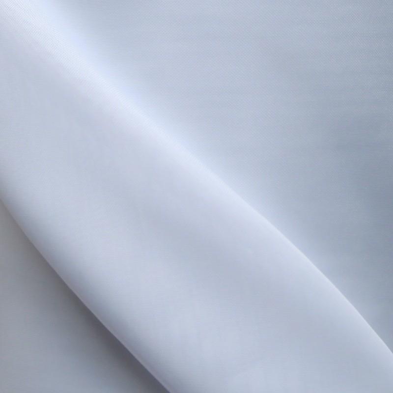 Plain White Voile Flame Retardant Fabric 300cm Wide