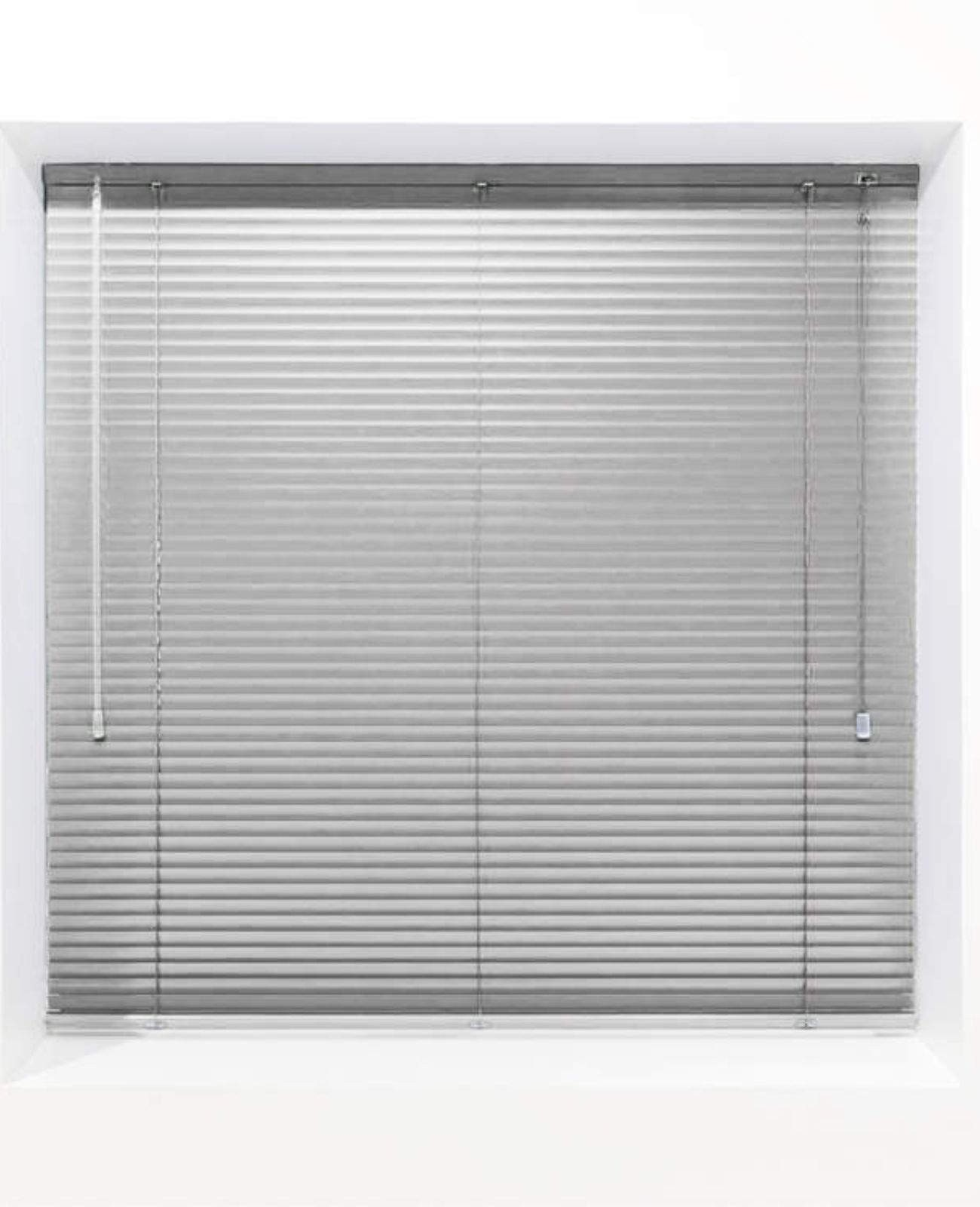 Grey 25mm Metal Venetian Blind - Made to Measure
