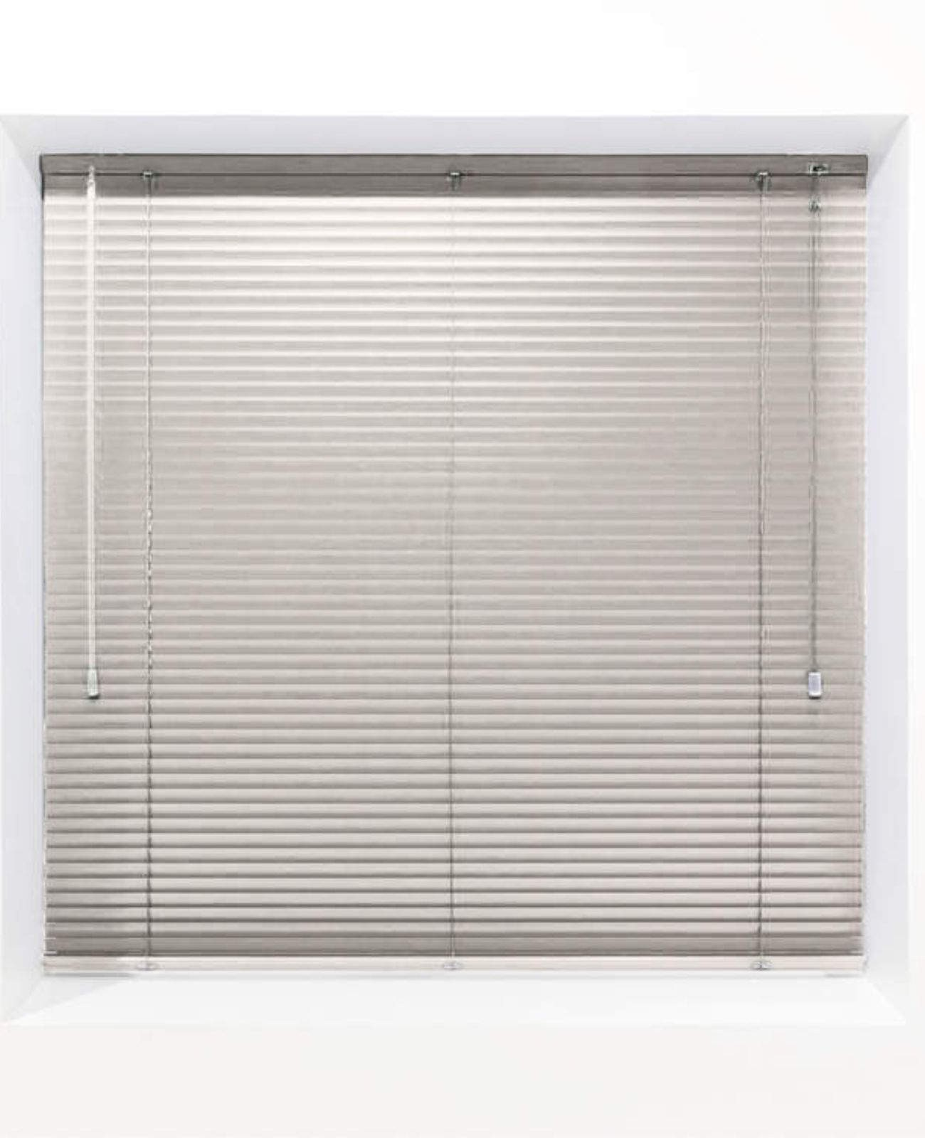 Ivory 25mm Metal Venetian Blind - Made to Measure