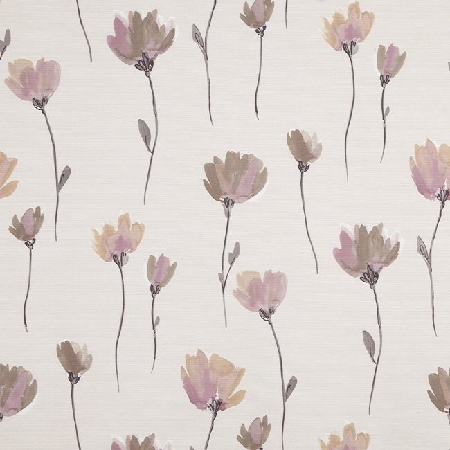 Juliet 655 Mauve Smoke Fire Resistant Fabric
