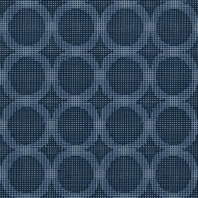 Logic 100 Blue Fire Resistant Fabric