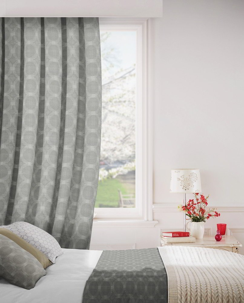 Logic 703 Mink Fire Resistant Curtains