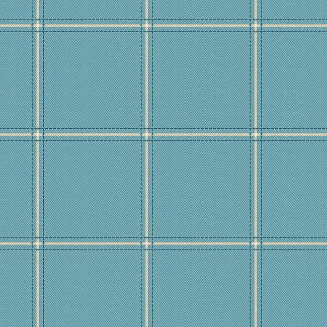 Milan 131 Azure Fire Resistant Fabric