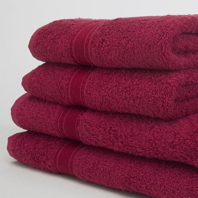 Burgundy Towels 480ms 4 Sizes