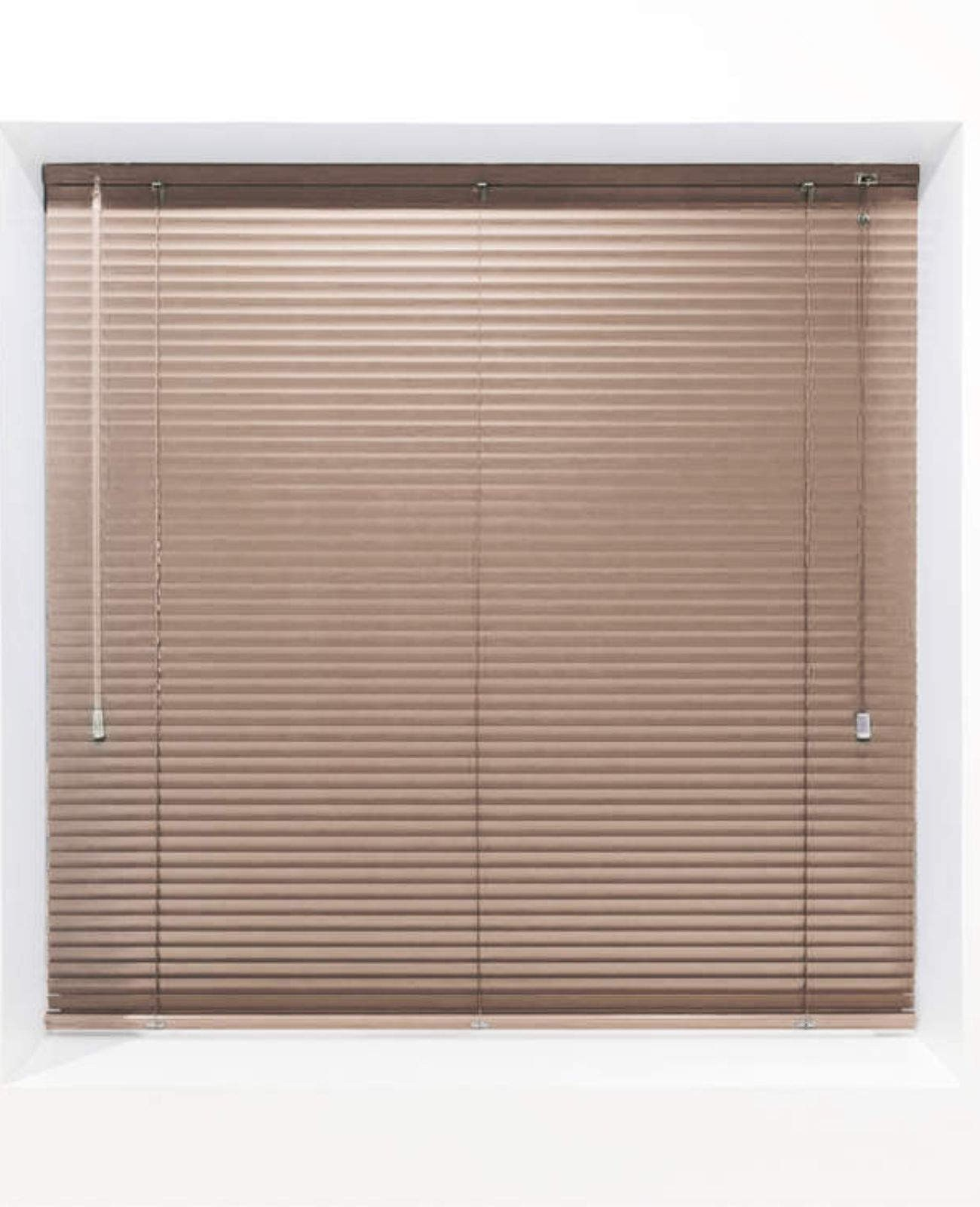 Mocha 25mm Metal Venetian Blind - Made to Measure
