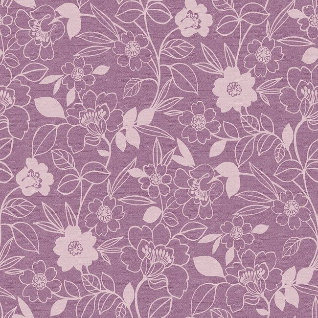 Monaco 624 Mulberry Fire Resistant Fabric