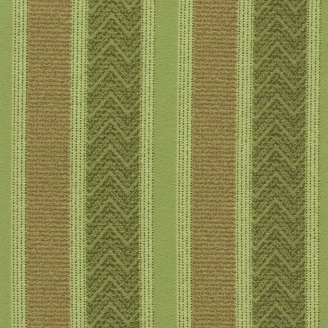 Nobel Stripe 284 Sage Fawn Fire Resistant Curtains