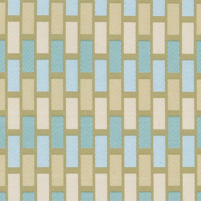 Plaza 158 Duck Egg Cream Fire Resistant Fabric