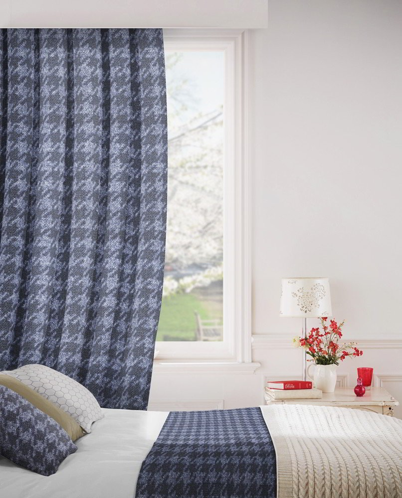 Stella 192 Ink Fire Resistant Curtains