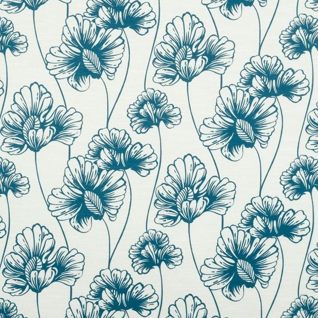 Tiffany 179 Blue Cream Fire Resistant Fabric