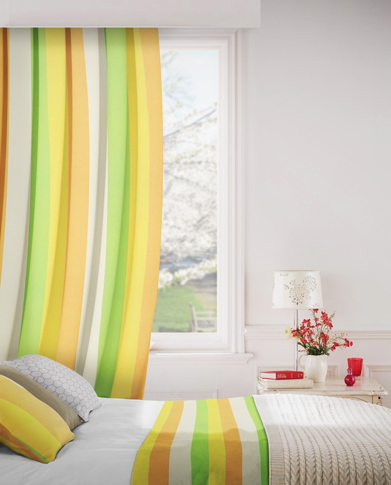 Verano 638 Mango Fire Resistant Curtains