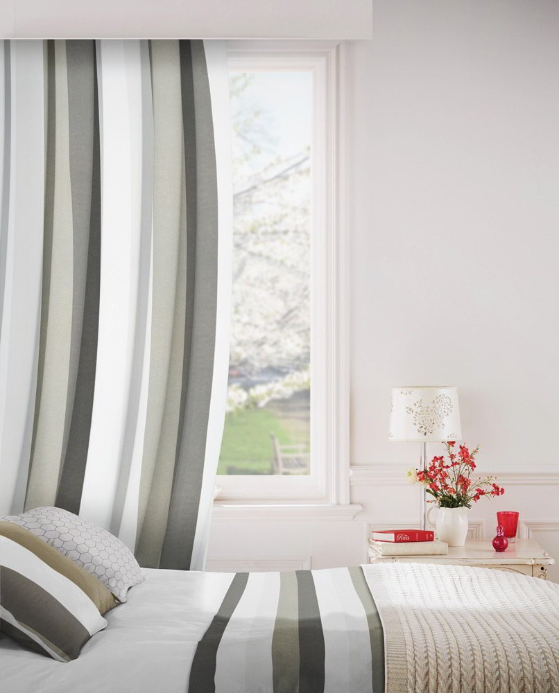 Verano 901 Silver Fire Resistant Curtains