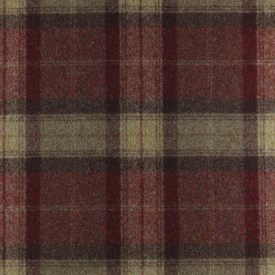 St Andrews Wool FR Fabric Almandine