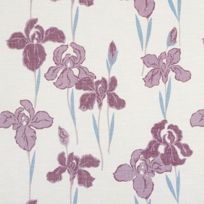 Amelia 509 Plum Fire Resistant Fabric