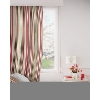 Arcadia 430 Red Gold Fire Resistant Curtains