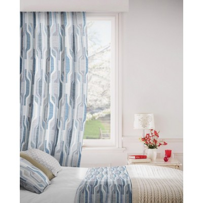 Balance 295 Jade Slate Fire Resistant Curtains