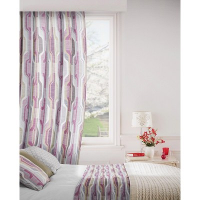 Balance 465 Raspberry Fig Fire Resistant Curtains