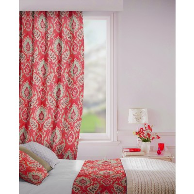 Beaumont in Copper Flame Retardant Curtain