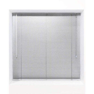 Bright White 25mm Metal Venetian Blind - Made to Measure