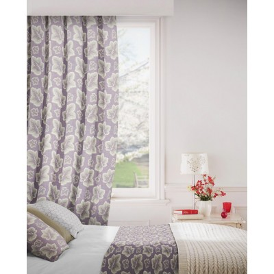 Burley 114 Lavender Fire Resistant Curtains