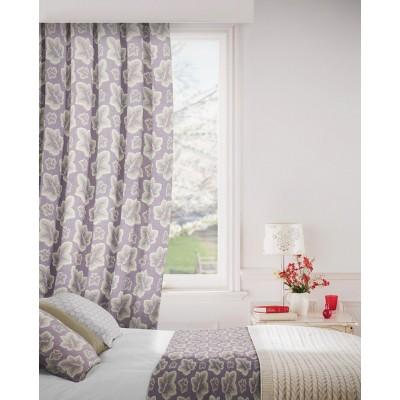 Burley 114 Lavender Fire Resistant Curtains