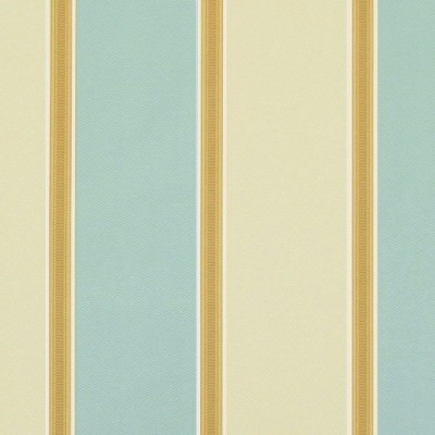 Capital Stripe 158 Duck Egg Cream Fire Resistant Curtains