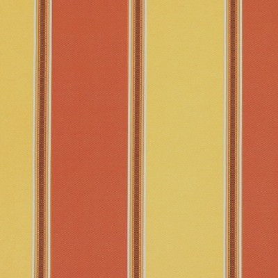 Capital Stripe 426 Terracotta Gold Fire Resistant Curtains