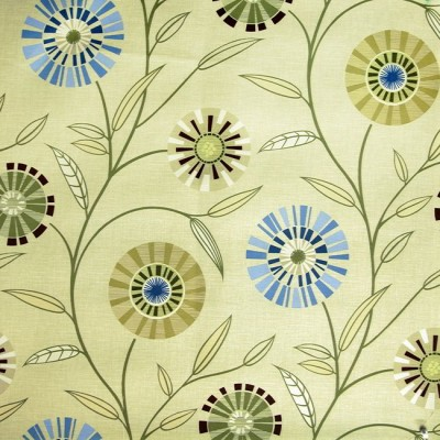 Carnival 237 Lime Flax Fire Resistant Fabric