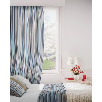 Dandy 109 Sky Indigo Fire Resistant Curtains