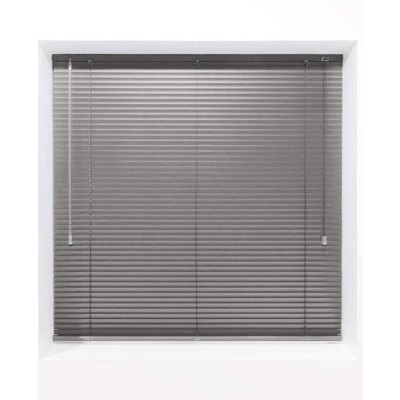 Dark Grey 25mm Metal Venetian Blind - Made to Measure