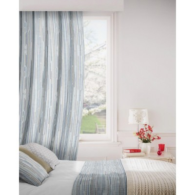 Dash 295 Jade Slate Fire Resistant Curtains