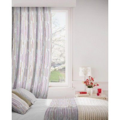 Dash 465 Raspberry Fig Fire Resistant Curtains