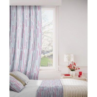 Dash 478 Red Mink Fire Resistant Curtains