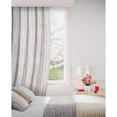 Dash 748 Pecan Spice Fire Resistant Curtains