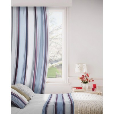 Edge 196 Heritage Blue Fire Resistant Curtains